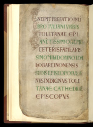 Zoomorphic Interlace Initial And Display Capitals, In A Collection Of Riddles And Other Works, By St. Tatwin, St. Aldhelm, And Others f.1v
